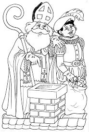 1001 Kleurplaten Sinterklaas Sint Kleurplaat Sint