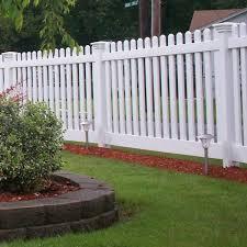 Weatherables Spokane 4 Ft X 6 Ft White Vinyl Picket Fence Panel Ez Pack Pwpi Thd3r5 5 4x6de The Home Depot
