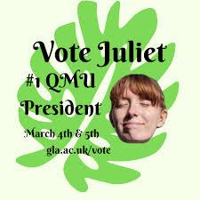 Vote Juliet Smith #1 QMU President - Home   Facebook