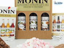 monin premium coffee syrups luxury gift