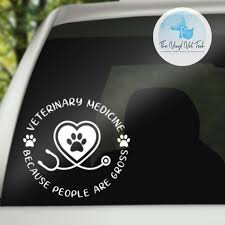 Vet Tech Decal Gift For Vet Tech Veterinary Veterinarian Etsy In 2020 Gifts For Veterinarians Vet Tech Vet Tech Tattoo