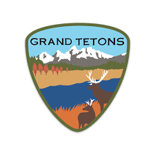 Grand Tetons Sticker R Nichols