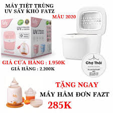 Máy tiệt trùng sấy khô UV Fatz Baby... - Chợ Thái Mom & Baby