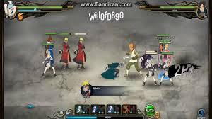 Naruto Online: Ninja Exam Lv 123 | Water Main (Azure Fang) Sage ...
