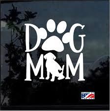 Dog Mom Beagle Window Decal Sticker Custom Sticker Shop