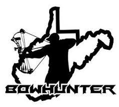 West Virginia Bowhunter V3 Decal Sticker