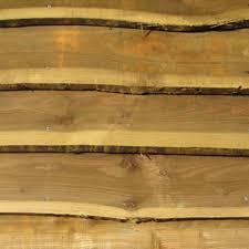 Waney Edge Board Cladding 3 6m 175 225mm Wooden Supplies