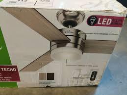 hunter exeter 54 led ceiling fan for