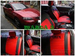 mazda 3 customized leather car seat