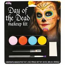 day of the dead sugar skull makeup kit