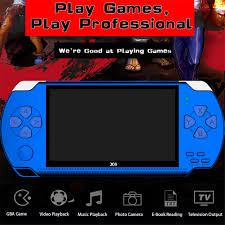8GB 4.3 Inch 32-Bit Di Động Cầm Tay Video Game Thủ Có Tích Hợp 10000 Game  PSP Máy Chơi Game Cầm Tay mp5 Nhạc Âm Thanh