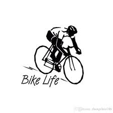 2020 8 8 8 9cm Bike Life Healthy Style Car Decal Sticker Black Silver Ca 56 From Zhangchao188 0 34 Dhgate Com