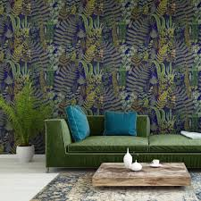 green sanctuary wallpaper by mind the gap