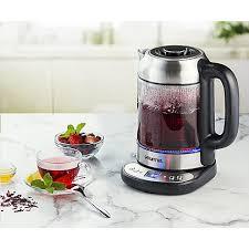 gdk290 electric glass tea kettle