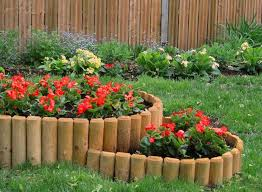 flower bed edging ideas and easy edging