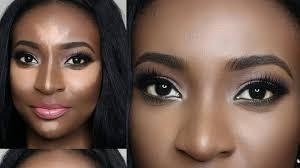 contour makeup tutorial for brown skin