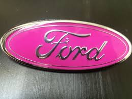 New Ford Front Grille Pink Oval 7 Quot Emblem Badge F81z 8213 Ab F150 F250 F350 Ebay Motors Parts Amp Accessor Ford Trucks Ford Suv Ford Pickup Trucks