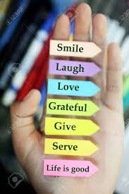 positive words in hand todays goals list morning inspirational