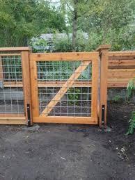 63 Inspiring Diy Front Yard Privacy Fence Remodel Ideas Fence Design Cedar Gate Cattle Panel Fence