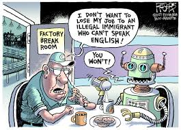 Image result for immigrants waant jobs