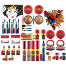 mac cosmetics wonder woman makeup