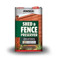 Shed Fence Preserver Ronseal