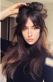Pin by sofia thomas on Makeup Ideas and Tricks | Long fringe ...