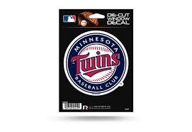 Minnesota Twins Window Decal Sticker Officially Licensed Mlb Custom Sticker Shop