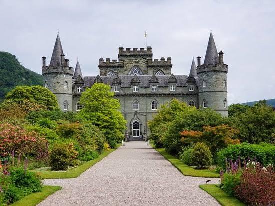 """Resultado de imagem para Castelo de Inveraray, Argyll and Bute, Escócia"""""""