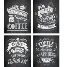 coffee bar sign board vector images over