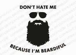 Beardiful Vinyl Decal Funny Meme Beard Lumbersexual Moustache Car Sticker Ebay