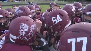 high school football helmet in Illinois