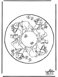 Mandala Paard 2 Dierenmandala S