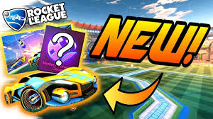 Rocket League Update New Wheels Car Mystery Decal Black Market Gameplay February Crate News Youtube
