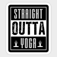 Yoga Fitness Lifestyle Vinyl Decal Laptop Quote Cute Bumper Sticker Ebay