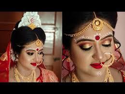 bengali bridal makeover l mac hd makeup