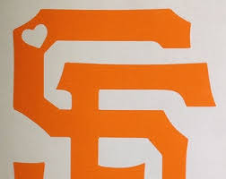 San Francisco Giants Decal Etsy