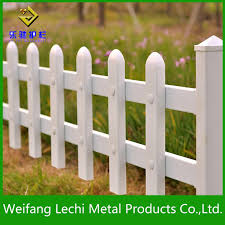 China Customized Specification White Plastic Pvc Post And Rail Fence For Garden And Wall China Fence Coated