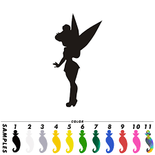 Fun Tinkerbell Princess Car Vinyl Decal Window Bumper Laptop Wall Sticker Decor Ebay