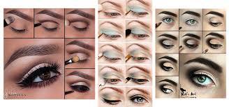 easy step by step natural eye make up