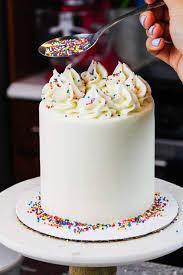 mini vanilla cake recipe simple 4
