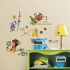 Disney The Lion King Peel Stick Wall Decals