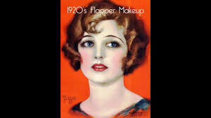 authentic 1920s flapper makeup with