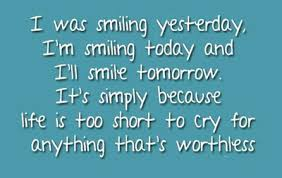 best quotes about smiling and being happy enkiquotes
