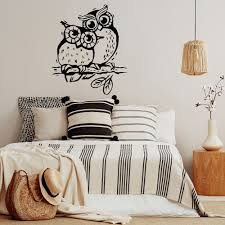 Owl Wall Decal Love Birds Mommy And Me Nursery Decor Vinyl Sticker For Kids Room Children Bedroom Decoration Wallpaper X317 Wall Stickers Aliexpress