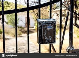 ᐈ Gate Mailbox Stock Pictures Royalty Free Mailbox Fence Gate Images Download On Depositphotos