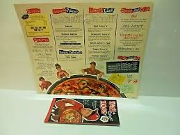 pizza hut menu with nutrition guide