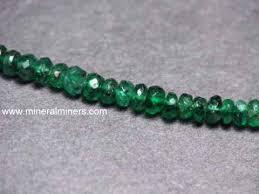 emerald necklaces genuine emerald