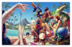 pool party league of legends ultra hd