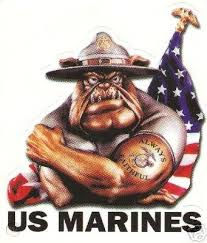Us Marines Window Decal Sticker Usmc Vfw Marine Corps 40736335